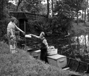 Grootouders in Giethoorn en Amsterdam