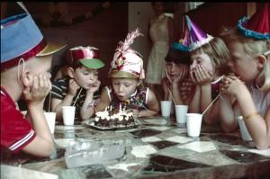 Verjaardag, het is feest