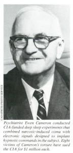 Psychiater Ewen Cameron