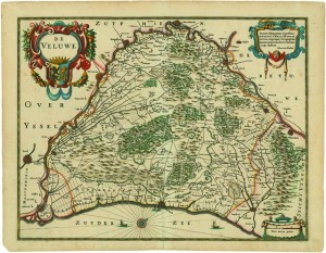 Oudst bekende kaart van de Veluwe