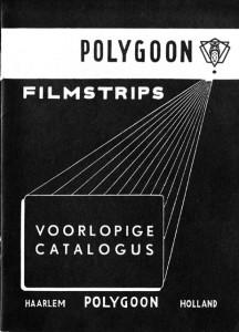 Eerste catalogus Polygoon Filmstrips