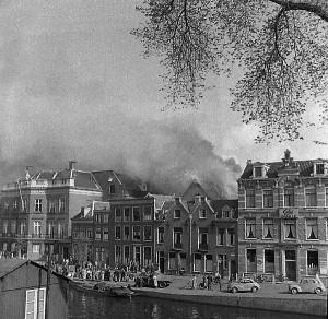 Brand in Spaarnwoudestraat in Haarlem