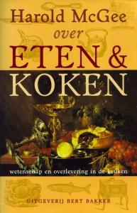 MIjn omslag van het boek 'Over eten & koken' van Harold McGee