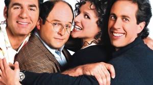 De hoofdrolspelers in 'Seinfeld'