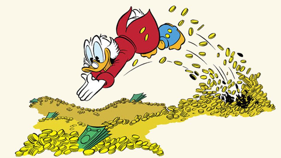 Geld maakt gelukkig - ... Uncle Rico Van