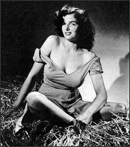 Jane Russel in Outlaw