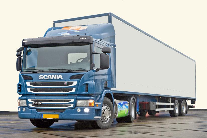 grote vrachtwagen zakelijke mogelijkheden