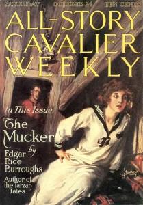 Het Pulp-tijdschrift 'All Story', 24 okt. 1914