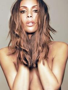 fotomodel Ines Rau (dezelfde vrouw als op de homepage)
