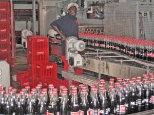 cola in productie (laatste fase)