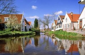 diagonaal door Nederland Waterland