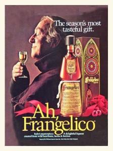 Advertentie voor Frangelico