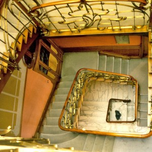 trappen in het Horta-museum
